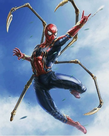caricaturas del hombre araña 2019