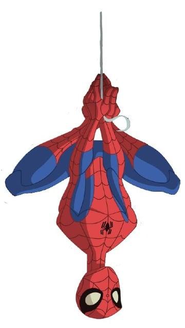 caricaturas del hombre araña para niños
