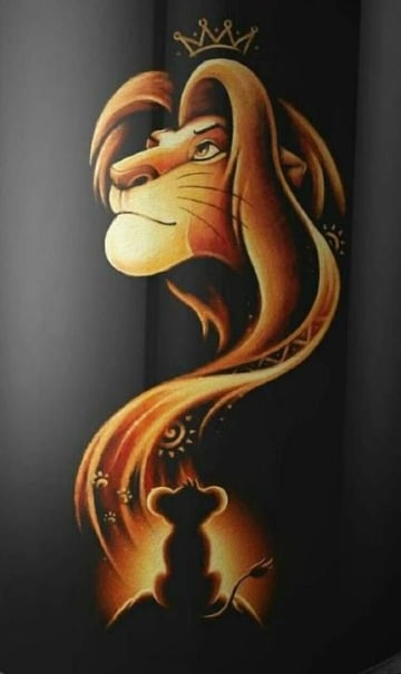 dibujos del rey leon para fondos de celular