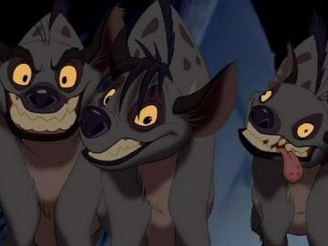 hienas del rey leon pelicula