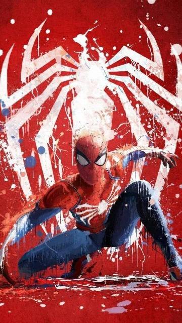 imagenes de caricaturas del hombre araña