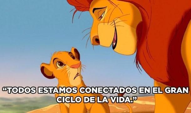 frases del rey leon a su hijo