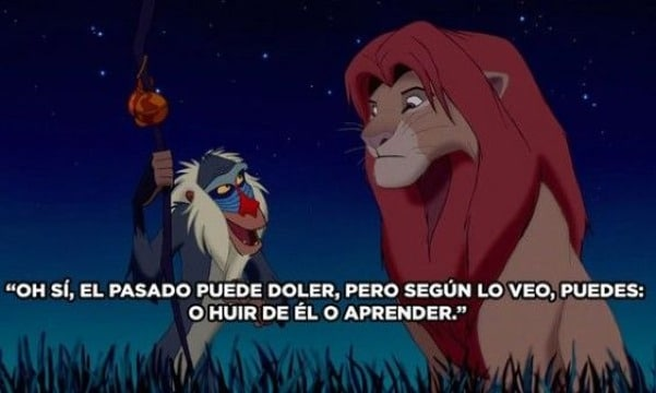 imagenes de frases del rey leon