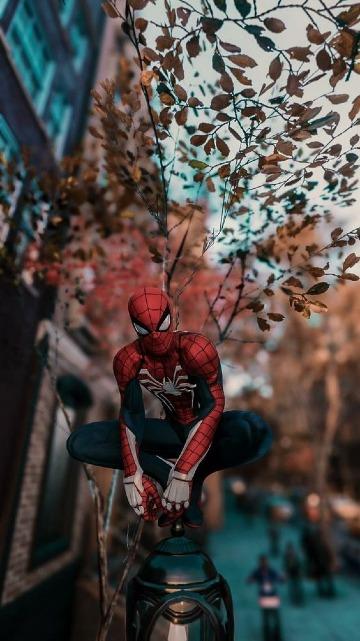imagenes de hombre araña 2019
