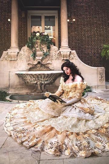 fotos de vestido de la bella y la bestia