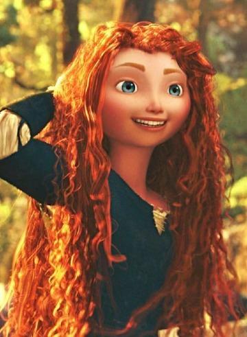 imagenes de la princesa valiente merida