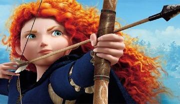 imagenes de la princesa valiente para dibujar