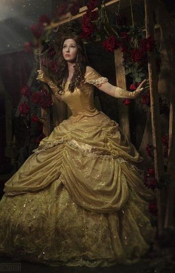 imagnes de vestido de la bella y la bestia