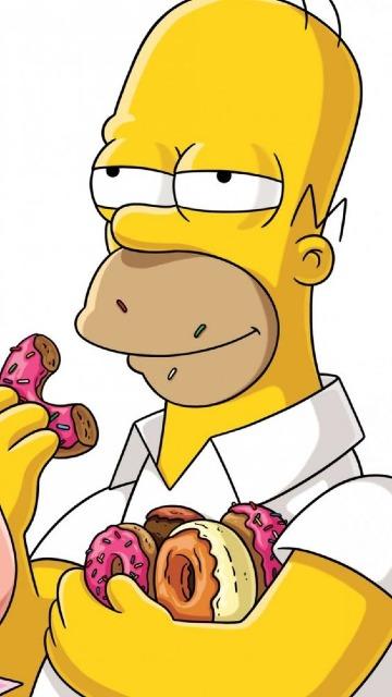 las mejores imagenes de homero simpson hd