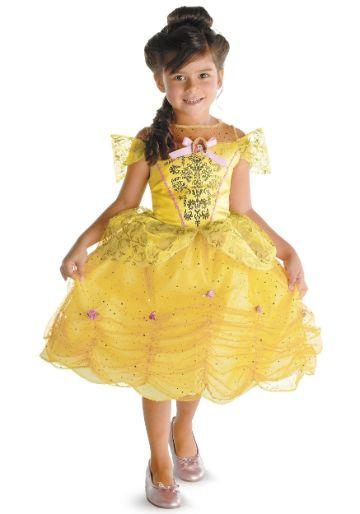 disfraces de princesas para niñas bella