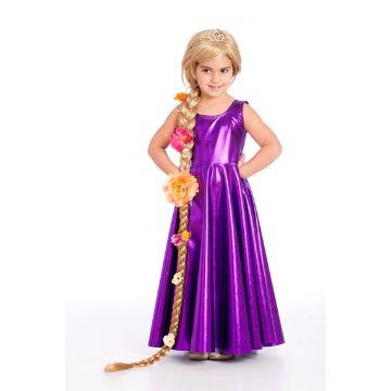 disfraces de princesas para niñas rapunzel