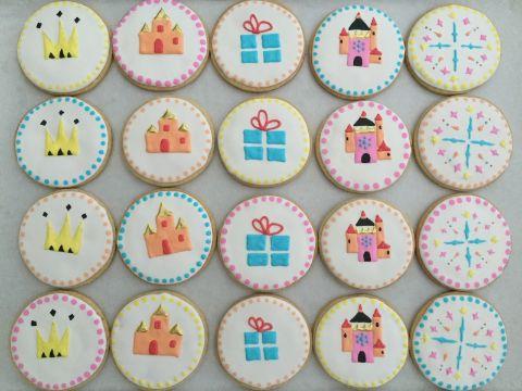 galletas decoradas de princesas imagenes