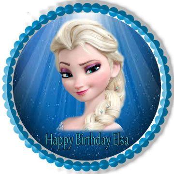 imagenes de elsa de frozen para cumpleaños