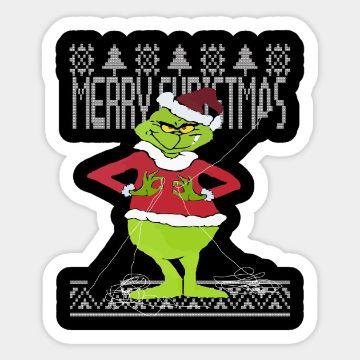 imagenes de feliz navidad grinch parches
