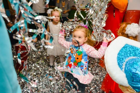 fiestas infantiles en navidad divertidas