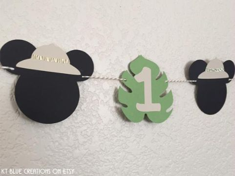 imagenes de mickey safari decoracion