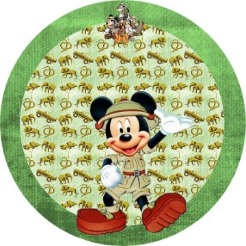 imagenes de mickey safari stickers