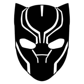 imagenes de pantera negra mascara
