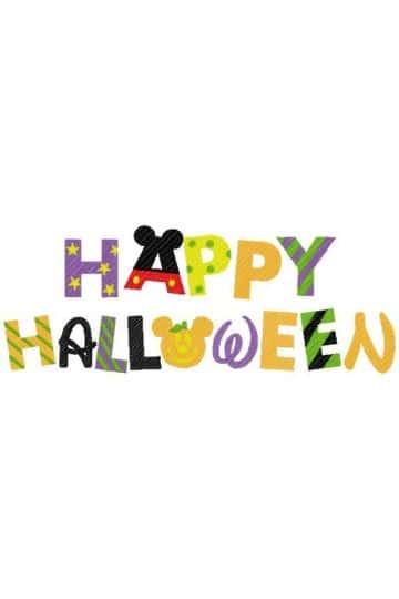 mickey mouse de halloween letreros para decorar