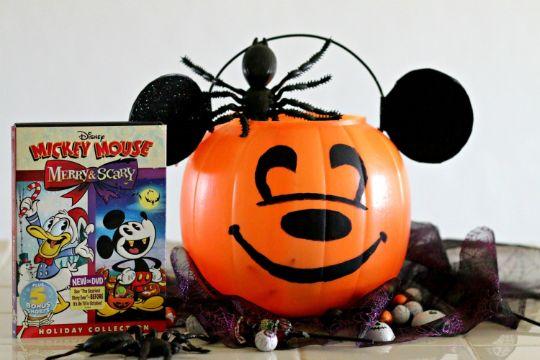 mickey mouse de halloween para pedir luces