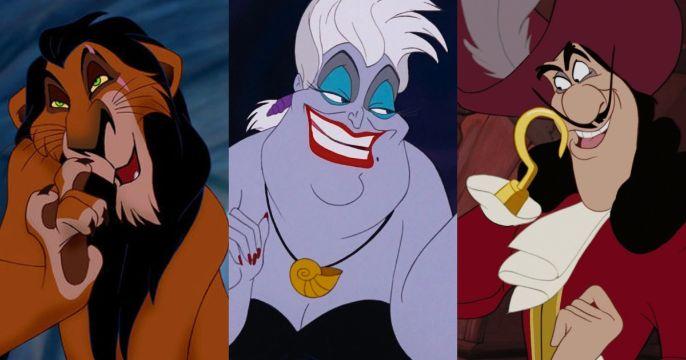 personajes malos de disney similitudes