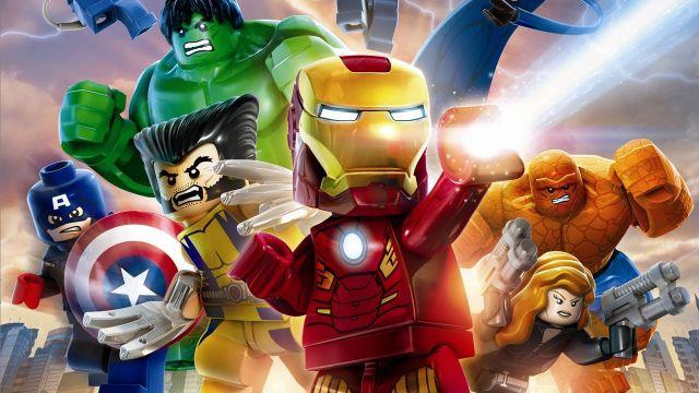todos los superheroes de marvel versión lego