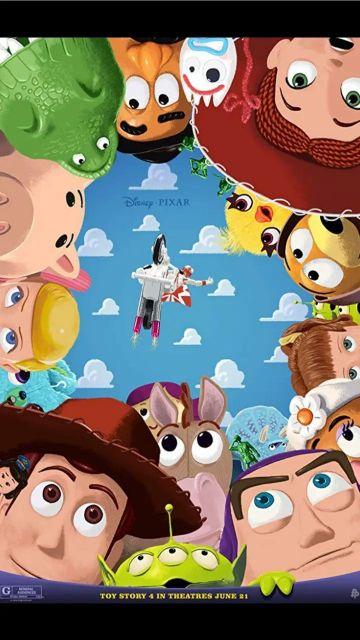 fondos de pantalla de toy story 4 ilustración original