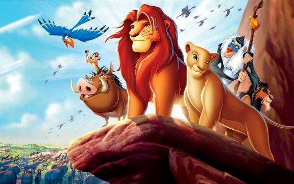 fondos de pantalla del rey leon version animada