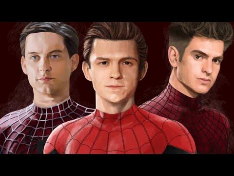 imagenes de el hombre araña diferetes actores
