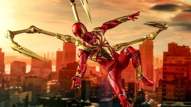 imagenes de iron spider para videojuego