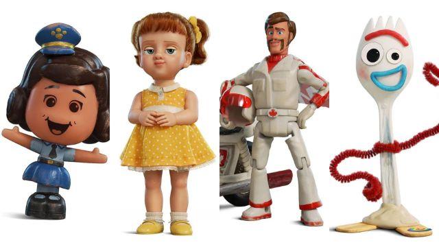 imagenes de toys story 4 nuevos personajes